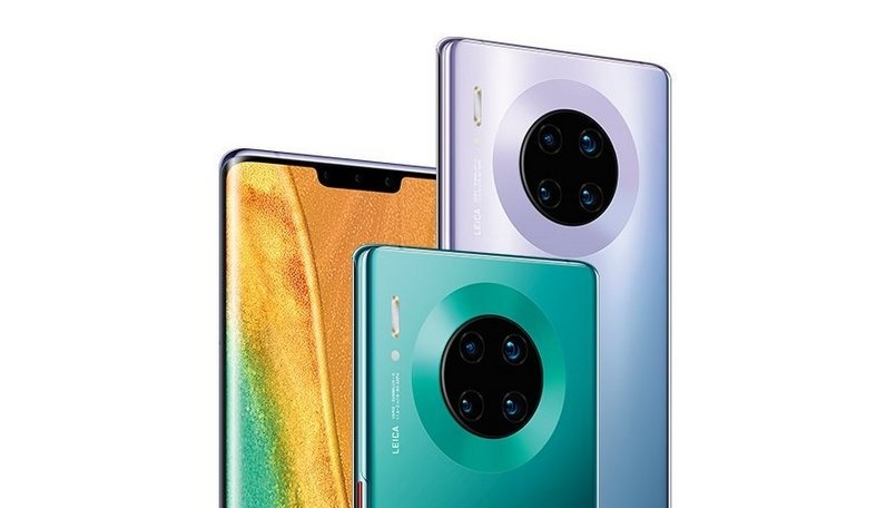 Huawei Mate 30 Pro launched with 40-megapixel camera, Kirin 990 5G SoC; Mate 30 tags along